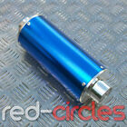 BLUE BIG BORE PIT DIRT BIKE EXHAUST MUFFLER 50cc 110cc 125cc 140cc PITBIKE