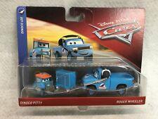 Disney Pixar Cars  - 2 pack - Dinoco Pitty & Roger Wheeler - 2018 - Dinoco 400