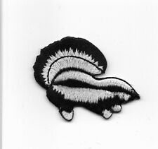 Skunk Iron On Embroidered Applique Patch wx0076
