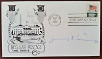 HENRY KISSINGER SIGNED FIRST DAY COVER CHICAGO 1969