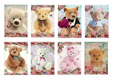 Teddies & Roses ~ Card Toppers / Scrapbooking / Card Making