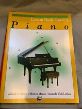 Alfred's Basic Piano Library LESSON Book Complete Level 3 NEW