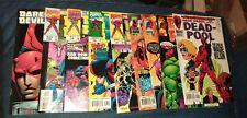 deadpool -1 4 5 6 7 8 9 10 annual 97 series comics lot run set movie collection
