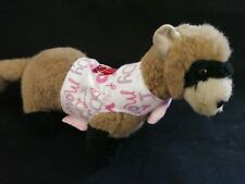 Ferret Harness - I Love Mommy I Love Daddy - Soft Flannel S/M