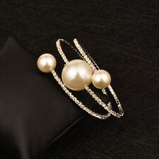 Women Fashion Big White/Pink/Black Ball Wrap Bracelets Bangle Cuff Brand 4 Color