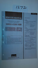 Sansui a-1200r 1100r service manual original repair book stereo amp amplifier