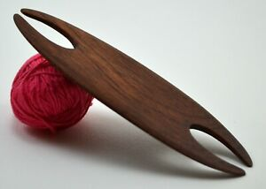 Weaving Shuttle For Inkle Loom Tablet Or Card Weaving - Handcrafted Mahogany
