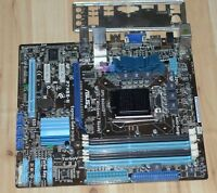 ASUS P7H55-M LGA1156 Socket, Intel DDR3 Motherboard+I/O baffle