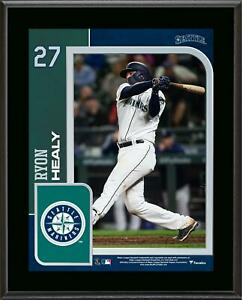 """Ryon Healy Seattle Mariners 10.5"""" x 13"""" Sublimated Player Plaque - Fanatics"""