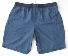 M Men The North Face Pull-On Adventure Shorts Shady Blue Nylon new NWT