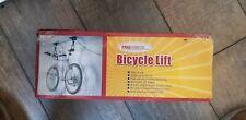 Heavy Duty Bike Bicycle Lift Ceiling Mounted Hoist Storage Hanger Pulley Rack