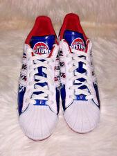 Adidas Superstar NBA Series Detroit Pistons Size 11.5 Men's