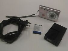 Casio EXILIM EX-Z77 7.2MP Digital Camera - Pink 3x Zoom Tested Working - Battery