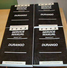 2005 Dodge Durango Shop Service Manual Vol 1 2 3 4 Set 05