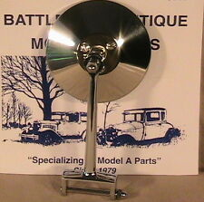 1928 and 1929 Model A Ford, Ratrod, Streetrod, Door Hinge Pin Mirrors a Set of 2