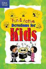 The One Year Book of Fun & Active Devotions for Kids-ExLibrary