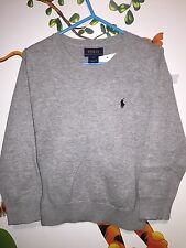 Ralph Lauren Kids Grey Jumper Size 6