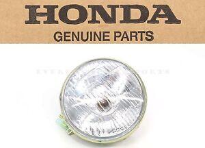 "New Genuine Honda 6v Sealed Beam Headlight Bulb 5-1/4"" 134mm 3 Wire OEM  #o20"