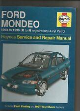 haynes ford mondeo manual 1993-1996 4-cyl petrol