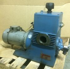 Kinney High Vacuum Pump Model KS-13 with Marathon 1 1/2 HP Motor, 230/460V, 3 Ph