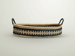 Fair Trade Handwoven Baby changing Basket plus mattress. *Mosesmat bag unit*