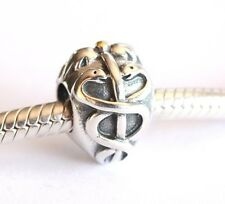 NEW 925 Sterling Silver European Bracelet Charm Bead Doctor Hippocratic Oath