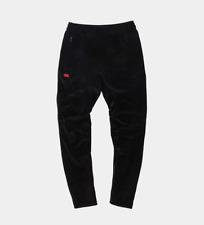 Kith x Adidas Soccer Velour Black Track Pant Cobra Cobras Size M In-Hand