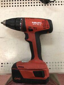 """Hilti SFC 22-A 1/2"""" Cordless Drill/Driver"""