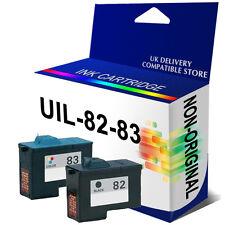 2 nos d'encre pour Lexmark X5190 Pro X6170 x65 imprimante