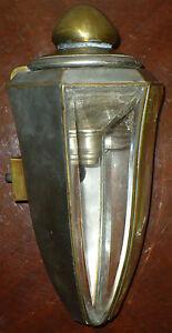 ANTIQUE PIERCE ARROW AUTOMOBILE CAR 1910 1912 COACH LIGHT LAMP LANTERN SIDE