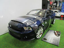 FORD SHELBY GT500 2010 1/18 SHELBY COLLECTIBLE 06911 voiture miniature collectio