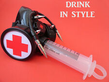 cyber Gothic respirators rave mask burningman drinking game liquor booze cosplay