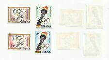 Ghana - Scott#  82-85 Rome 1960 Olympics - MINT, light hinged
