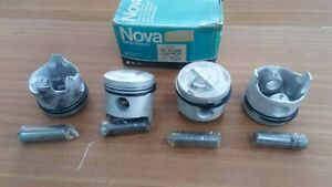 4x Pistons fits Fiat 125 Berlina 124 Special 80.60mm Bore
