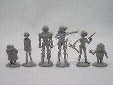 Lot de 6 figurines ALBATOR et ses amis ATLANTIC Vintage capitaine Harlock Alfred