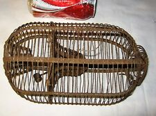 Antique Primitive Usa Country Hardware Home Sm Mouse Rodent Trap Wire Metal Cage