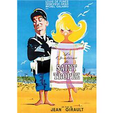 Affiche Le gendarme de Saint Tropez