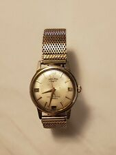 Rare Vintage Vulcain Manual Wind Gold-plated Men's Watch