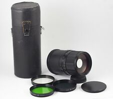 MC 3M-5CA F/8 500mm NIKON F SLR MIRROR TELE LENS NEAR MINT
