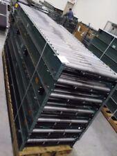 """Hytrol 30"""" BDLR Belt Driven Live Roller Conveyor ABEZ 95 ft COMPLETE Works"""