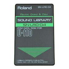 ROLAND SN-U110-04 ELECTRIC GRAND & CLAVI Memory ROM Card for U110 synth