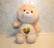 "Vintage 1983 Care Bears FRIEND BEAR Orange 13"" Plush"