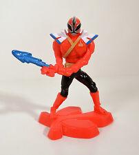 "2012 Red Ranger 4.25"" McDonalds Super Samurai #1 Action Figure Power Rangers"