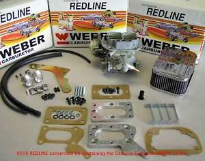 1979-1989 Mitsubishi Dodge Chrysler 2.0 2.6 M/T 32/36 Weber Carb Conversion Kit