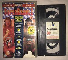 WCW Superbrawl - Return From the Rising Sun (VHS, 1991) (PAL) NWO WWF WWE RARE