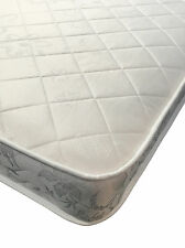 3FT Short Single 90X175cm Micro Quilt Memory Spring Mattress FREE DELIVERY