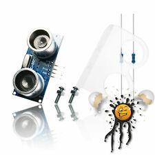 ESP8266 HC-SR04 Ultraschall Ultrasonic Sensor Set 5V / 3,3V Set + Halter Arduino