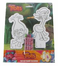 Troll UFFICIALE DREAMWORKS Pop Out Da Colorare Regalo di Natale CONSEGNA GRATUITA