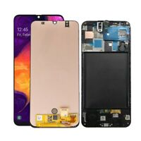 For Samsung Galaxy A50 2019 SM-A505F LCD Display Touch Screen Digitizer ± Frame
