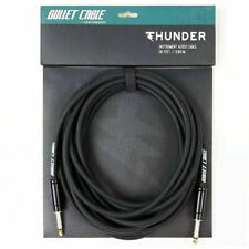 Bullet Cable BC-20T Thunder 20' Foot Instrument Guitar Cable Black